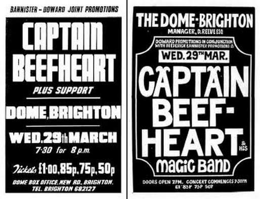 Enregistrements ) Captain Beefheart