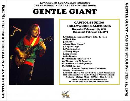 gentle giant discography flac